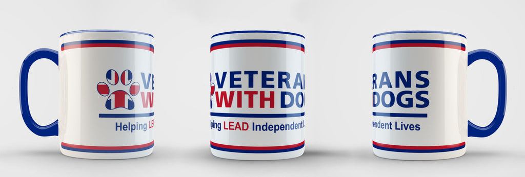 VWD Mug - Veterans With Dogs (VWD) Shop