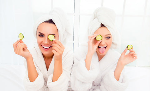 Stuck Inside This Winter? Have A Home Spa Day