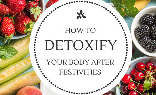 How to detoxify your skin after festivities