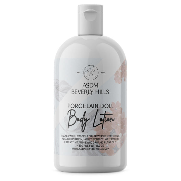 Porcelain Doll Lotion with Hyaluronic Acid