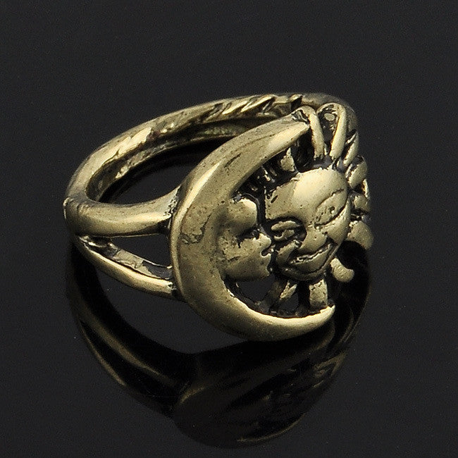 Game of Thrones Gold Silver or Bronze Sun Moon Ring Film Fan Gear