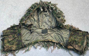 What is a ghillie hood?