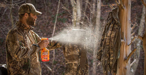 Scent killing begins prior to step on the woods