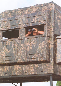 Deer blind to hide yourself and have some shelter