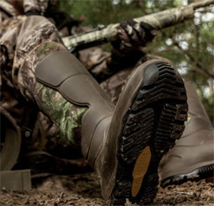 Waterproofness is a key feature for a hunting boot