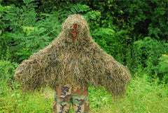 The Tracker Ghillie Poncho Synthetic thread version - GhillieSuitShop