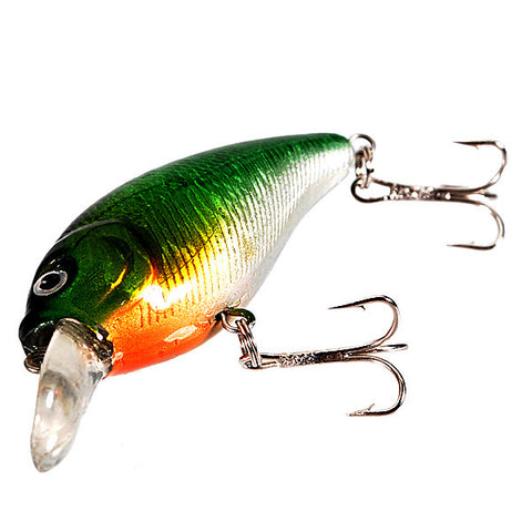 70mm Crankbait Fishing Lures Tackle VCM 3D Eyes Hook Swimbait Baits - GhillieSuitShop