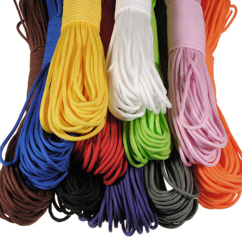 550 100FT Nylon Desert Parachute Cord for Outdoor Survival - GhillieSuitShop