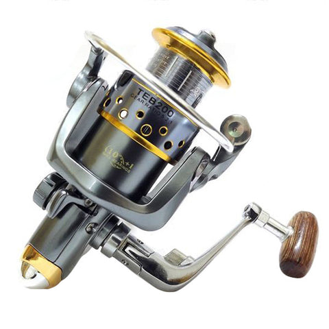 Spinning Fishing Reel Metal Fishing Tackle TEB200 11 Shaft 2000 - GhillieSuitShop