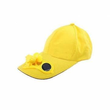 Summer Sport Outdoor Hat Cap with Solar Sun Power Cool Fan - GhillieSuitShop