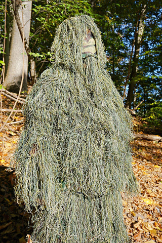 GhillieSuitShop 5 Piece Woodland Ghillie Suit