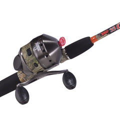 33 CAMO 6' 2PC MED SPINCAST COMBO for Fishing - GhillieSuitShop