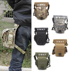 Multifunction Outdoor Leg Bag Utility Thigh Fanny Pack Hiking Hunting - GhillieSuitShop