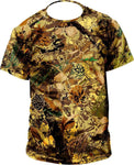 Standing Pine  Outdoor Collection T-shirt,  Day-Pine pattern - GhillieSuitShop