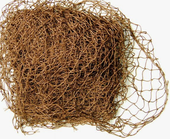 5'x9' Ghillie Netting Nylon-Dark Brown - GhillieSuitShop