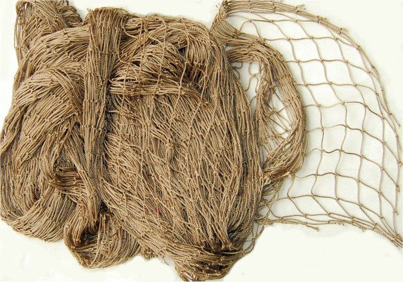 4.5'x5' Ghillie Netting Nylon-TAN - GhillieSuitShop