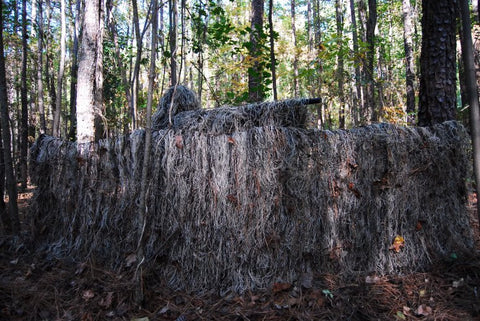 Folding Blind with bag + Ghillie Blind Cover - GhillieSuitShop