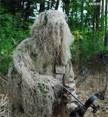 Ultra Light Ghillie Bow Hunting jacket - GhillieSuitShop