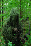 USA Made Leafy Green Ultra Light Ghillie Jacket for Bow Hunting