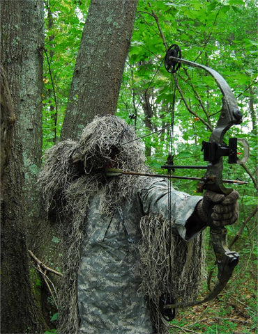 USA Made Mossy Ultra Light Ghillie Suit Jacket for Bow Hunting