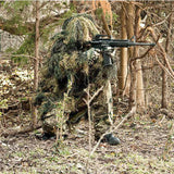 Woodland 2 Piece Ghillie Suit Parka - Red Rock Outdoor Gear - GhillieSuitShop