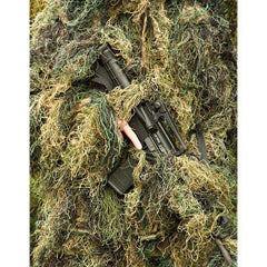 Kids Woodland Camo 5 Piece Ghillie Suit - GhillieSuitShop