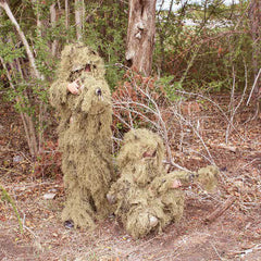 Kids Desert 5 Piece Ghillie Suit - Red Rock Outdoor Gear - GhillieSuitShop