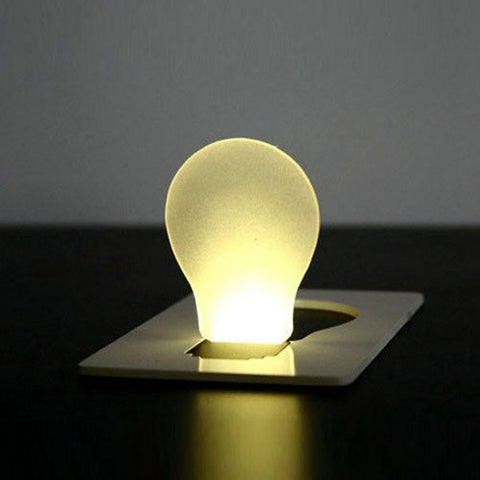 Portable LED Card Light Pocket Lamp Purse Wallet Emergency Light - GhillieSuitShop