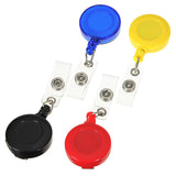 Retractable Card Key Holder Tag Reels Badge Plastic Belt Clip - GhillieSuitShop