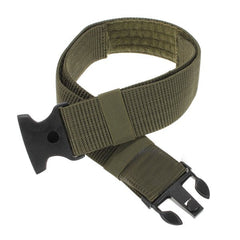 Military Police Adjustable Fastener Dual-Safety Tactical Nylon Belt - GhillieSuitShop
