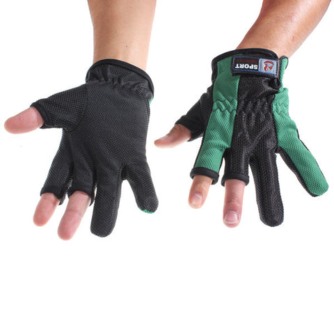 Professional Multiple Colors Fishing Gloves for Fishing One Pair - GhillieSuitShop