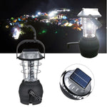 Outdoor Solar 36LEDS Hand Crank Dynamo Camping Lantern Light Lamp - GhillieSuitShop