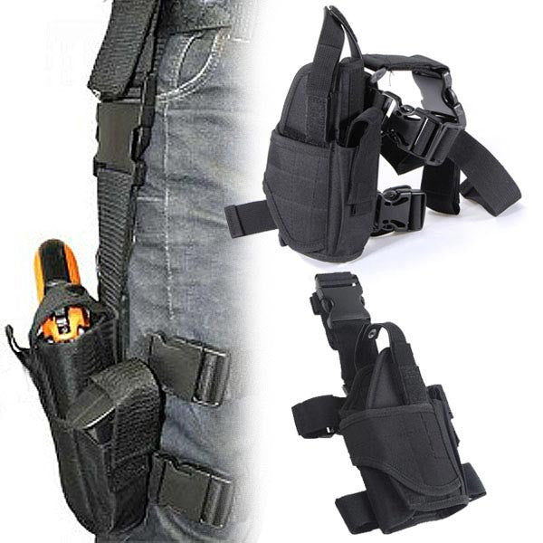 Tactical Adjustable Outdoor Hunting Waterproof Puttee Leg Pouch - GhillieSuitShop