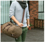 Stylish Vintage Rucksack Travel Backpack Laptop Bag