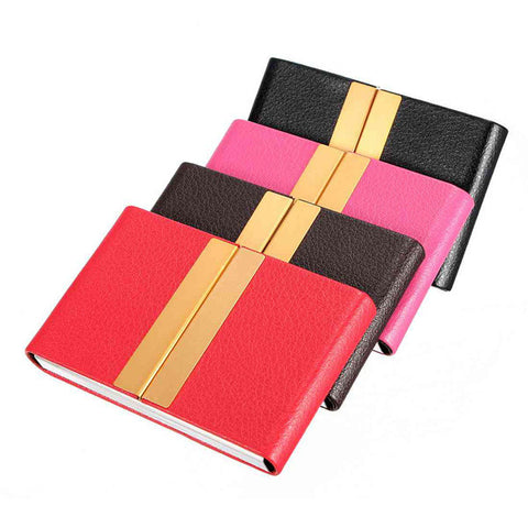 Outdoor Traveling Portable PU Leather Card Case Box - GhillieSuitShop