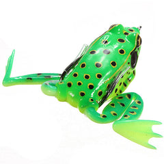 55mm Soft Topwater Fishing Ray Frog Lures Bass Baits Crankbaits - GhillieSuitShop