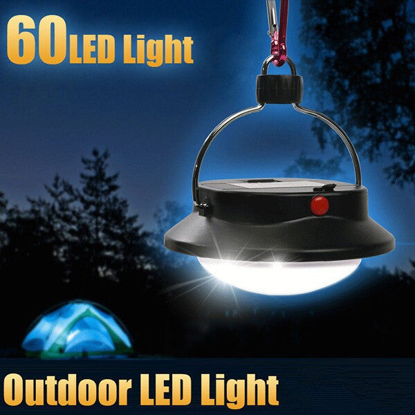 Portable 60 LED Camping Hiking Outdoor Light Tent Umbrella Night Lamp - GhillieSuitShop