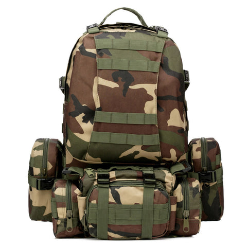 Outdoor Tactical Rucksack Backpack 50L - GhillieSuitShop