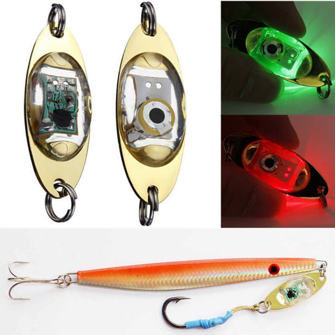 LED Light Bait Deep Drop Underwater Flashing Lamp Metal Light Bait - GhillieSuitShop
