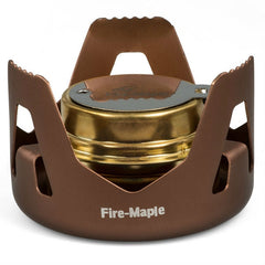 Evaporation Alcohol Stove Portable Mini Spirit Burner Hiking Camping - GhillieSuitShop