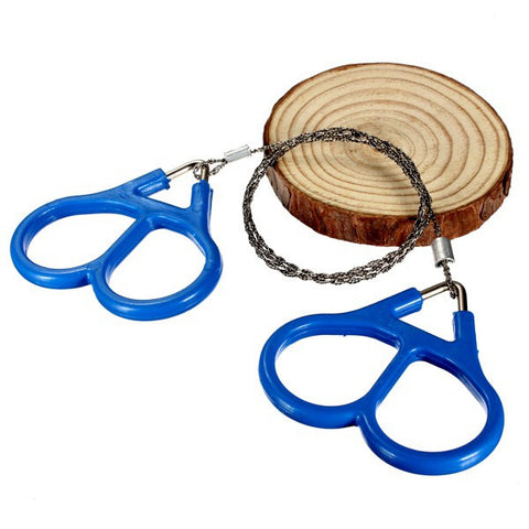Steel Wire Saw Scroll Outdoor Hiking Camping Survival Portable Tool - GhillieSuitShop