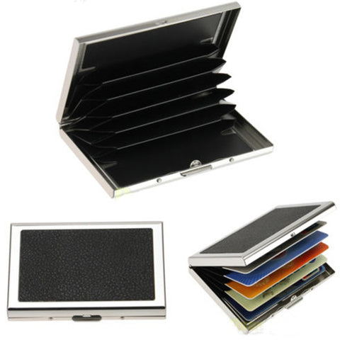 Waterproof Aluminum Business ID Credit Card Case Pocket - GhillieSuitShop