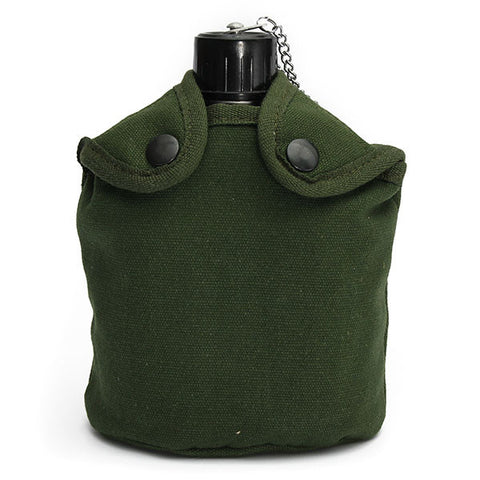 Military Tactical Camping  Aluminum Army Green Cover Canteen Cup - GhillieSuitShop