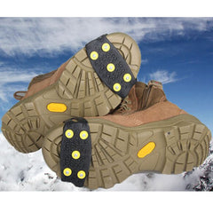Anti Slip Snow Crampon Snow Ice Grips Climbing Cleats Shoes Studded - GhillieSuitShop
