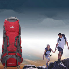 Tactical Camping Hiking Traveling Mountaineering Backpack 80L - GhillieSuitShop