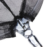 Foldable Fishing Net Stainless Steel Fishing Landing Nets 1.55m - GhillieSuitShop
