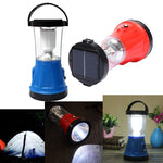 Solar LED Lantern Rechargeable Outdoor Fishing Camping Hiking Light - GhillieSuitShop