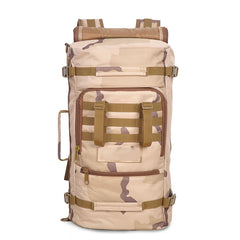 Tactical Military Trekking Camping Hiking Rucksack Backpack Bag 60L - GhillieSuitShop