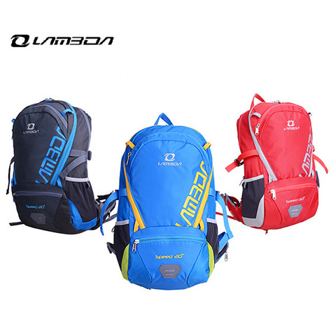 LAMBDA Unisex Riding Bicycle Bag Backpack Outdoor Air Bag Riding Equipment 25L - GhillieSuitShop