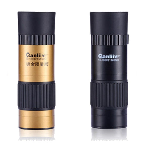 10-100X21 New Model Portable And Mini Monoculars High Magnification Night Vision Telescope - GhillieSuitShop